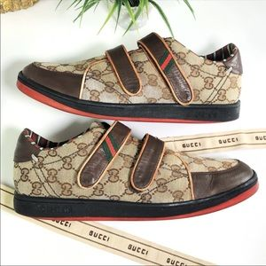 Gucci Authentic Vintage '00 GG Logo Mens Sneakers